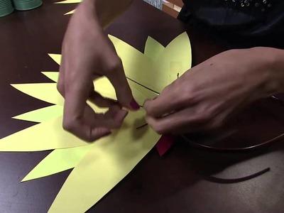 Mulher.com 03.02.2015 Tiara decorada para carnaval por Bianca Barreto Parte 2