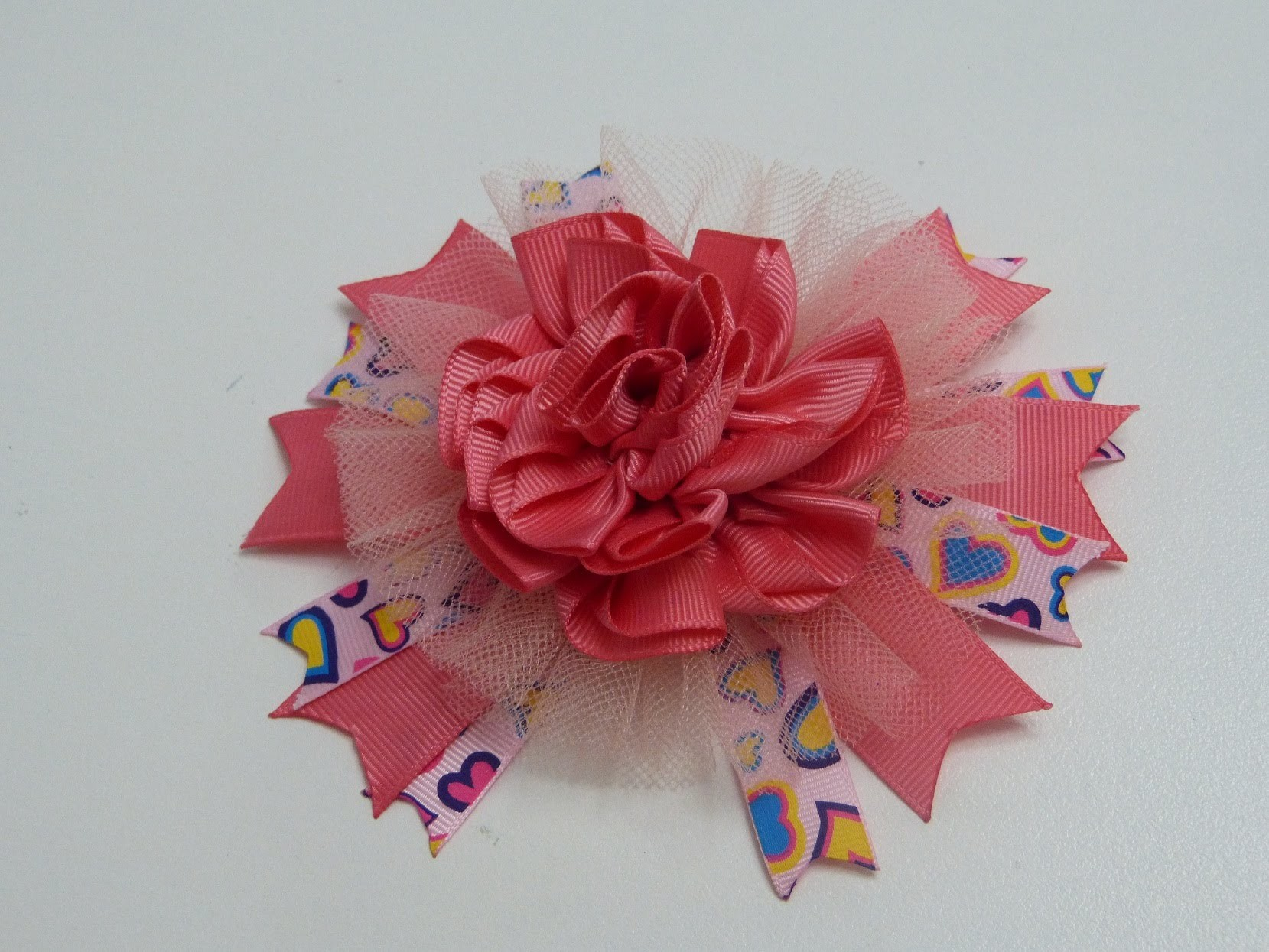 PAP FLORES, ROSAS,  FLOWERS TUTORIAL,  Flores en cintas,How to fabric flowers