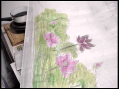 Batik usando tjanting