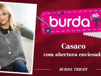 Burda na TV 46 | Vida com Arte | Casaco da burda tricot