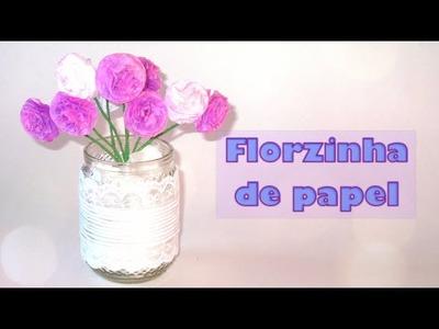 Como fazer florzinha de papel + Enfeite para Decoração [DIY]