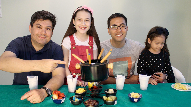 Desafio do Fondue de Chocolate (Fondue Challenge) Julia Silva