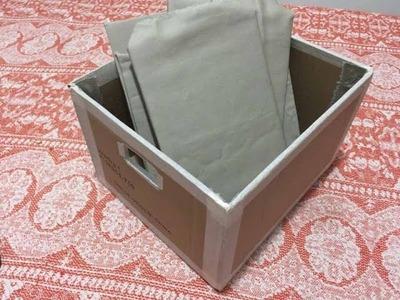 DIY - Organizador (forro interno)✂️ Artesanato