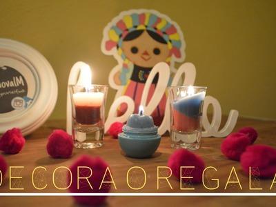 Haz VELAS! para Decorar o Regalar- Melina Sandoval