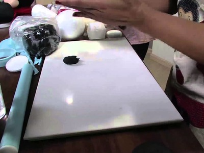 Mulher.com 26.04.2013 Bia Cravol - Biscuit porta biscoito do Mickey  Parte 1.2