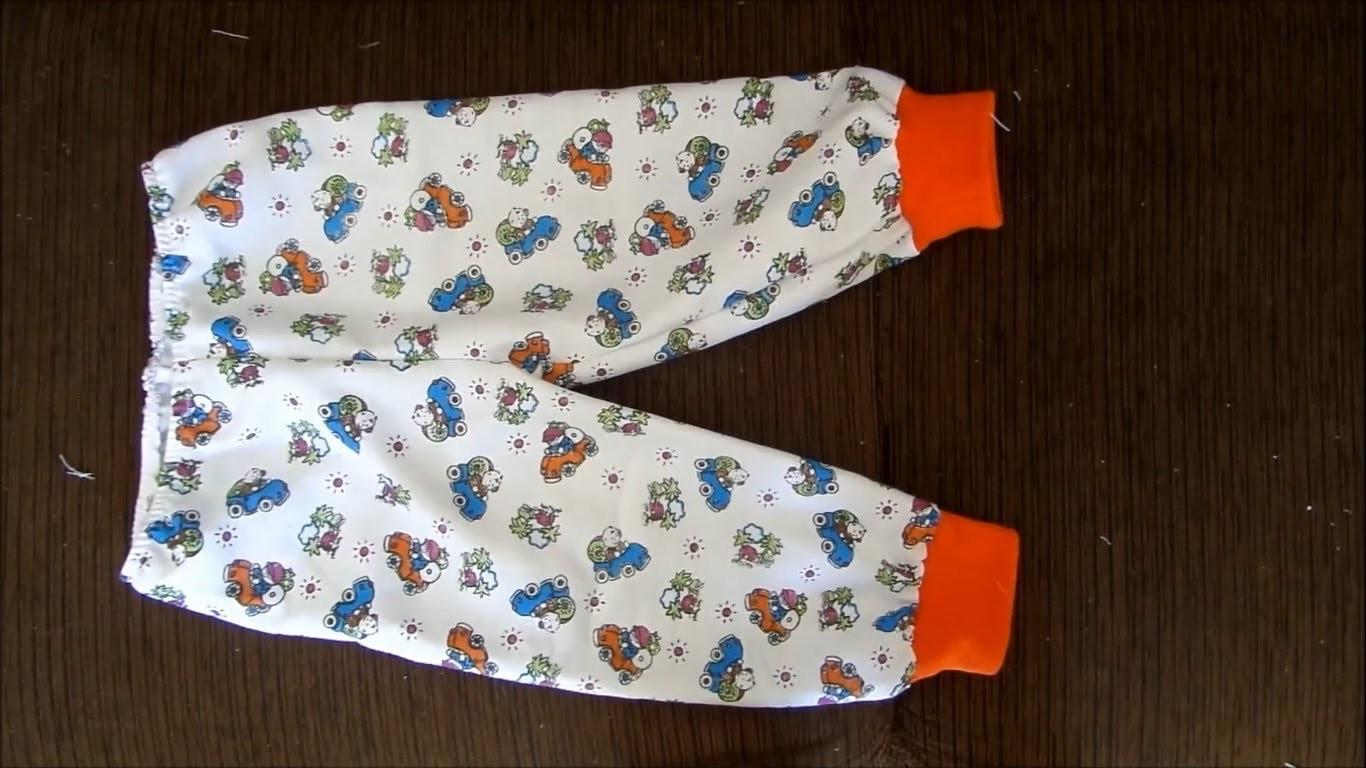 Como costurar  calça com punho - pijama Alana Santos Blogger