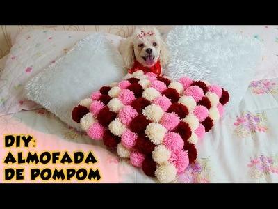 DIY - Como fazer uma almofada de pompom