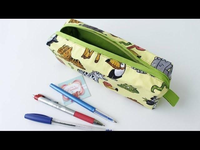 Necessaire Para Lápis Plastificada