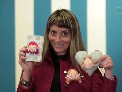 Passa o PAP | Millyta ensina como fazer broches e enfeites com rostos de bonecas