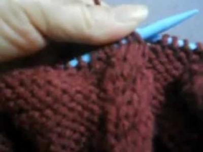 Trico cava  e decote de blusa