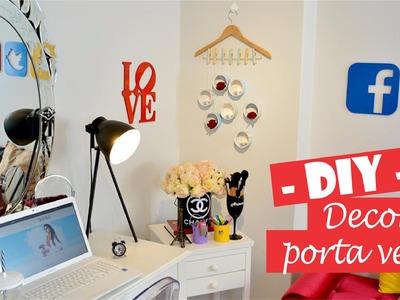 DIY - Decor porta velas | Senhora Shoes