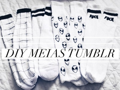 DIY. Meias (Inspiradas no Tumblr)