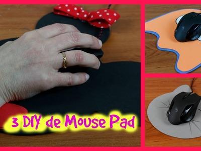 Mouse Pad personalizado - 3 DIY - Com descanso para o punho :)