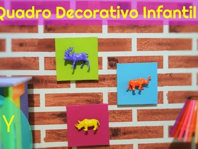 Quadro Para Decoração Infantil (DIY)