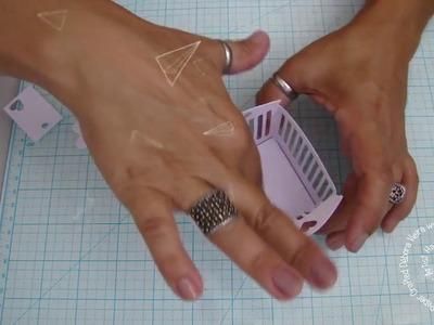 DIY Caixa para Berço