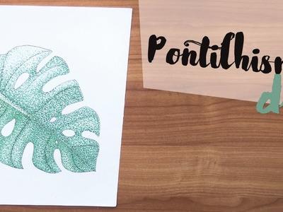 DIY: Como colorir usando pontos! por Isabelle Verona