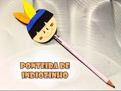 DIY.: Ponteira de Indiozinho