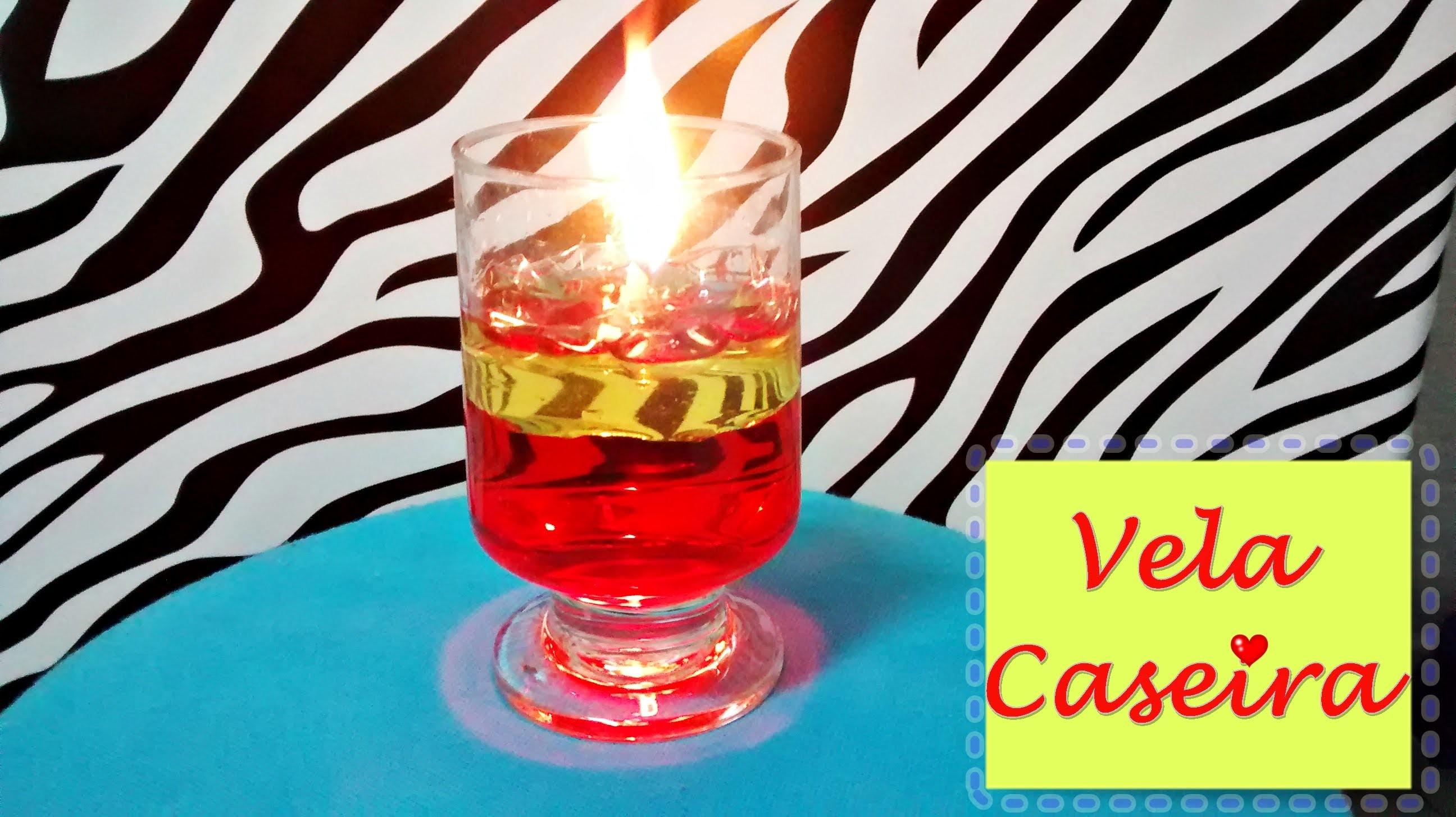 DIY: Vela Caseira (sem usar parafina)