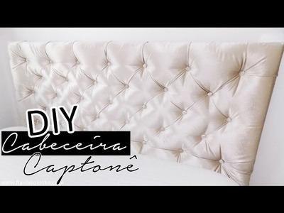 DIY - Como Fazer CABECEIRA CAPITONE - Super FÁCIL e BARATO