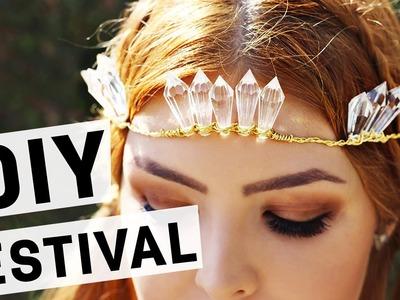 DIY Coroa de Cristal l Adriana Alfaro #FFnaTomorrowland