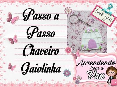 (DIY) PASSO A PASSO CHAVEIRO GAIOLINHA - Especial Dia das Mães #13