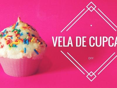 Vela de Cupcake • DIY ♡
