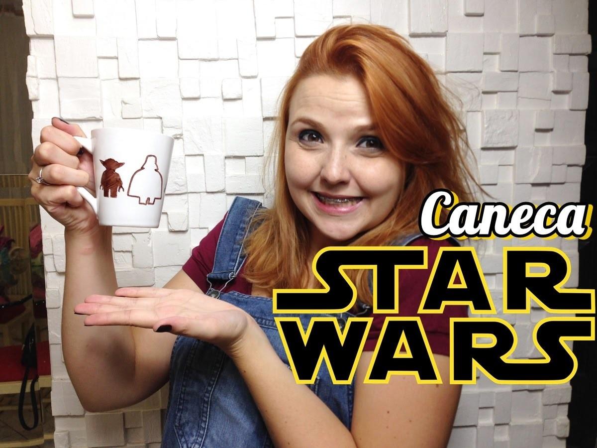 DIY CANECA STAR WARS - Nahdicas