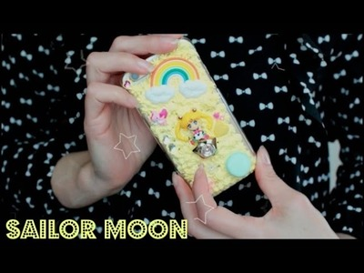DIY Capinha de Celular da Sailor Moon . Iphone Case Diy .