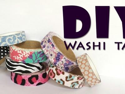 DIY - Como fazer Washi Tape de tecido