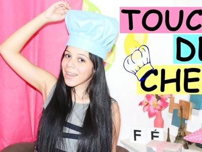 DIY: Touca Chef de Cozinha + SORTEIO  ❤❤
