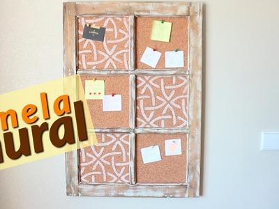 DIY - Transformando uma janela em mural