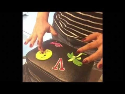 DIY BOLSA COM PATCHES