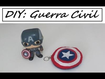 DIY | Capitão América: Guerra Civil #TeamCap