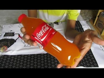 COCA COLA LARANJA DE GELATINA DIY