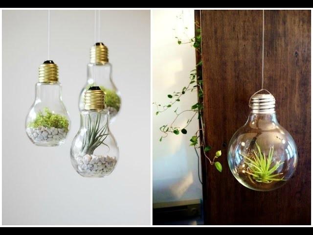 DIY: Decoração com lâmpadas recicladas - TUTORIAL