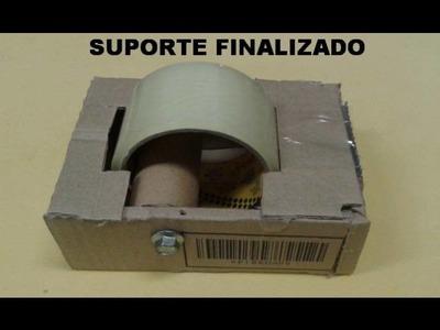 DIY : SUPORTE PARA FITA ADESIVA - SIMPLES & PRÁTICO