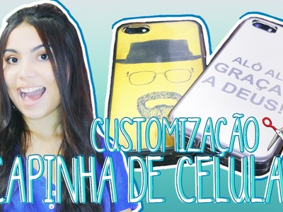 DIY: CAPINHA DE CELULAR feat. Edu Aguiar | Andressa Moraes