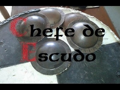 DIY Chefe de Escudo Caseiro -- 2 métodos
