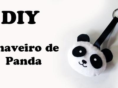 DIY: Como Fazer Chaveiro de Panda Kawaii em Feltro | Ideias Personalizadas - DIY