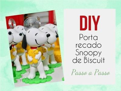 DIY - Porta recado Snoopy PASSO A PASSO