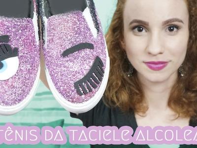Eu fiz o sapato da Taciele Alcolea - DIY