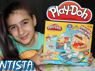 Play Doh Doutor Dentista Massinha de Modelar (Super Massa, Comprinha, DIY) Play Dough
