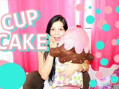 DIY:  Almofada de Cupcake ♡