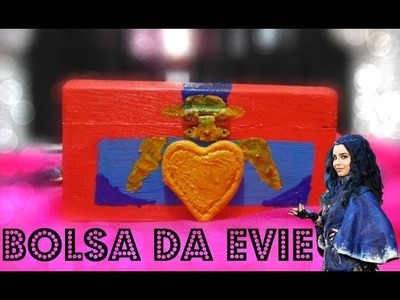 DIY - Bolsa da Evie (Disney Descendentes) feat Blog Ana P