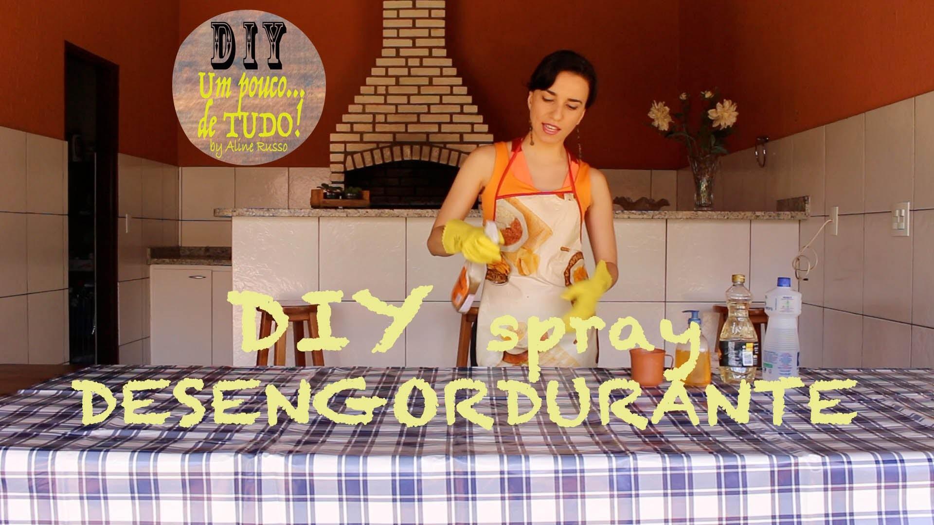 DIY - Como fazer desengordurante tipo spray para sua cozinha