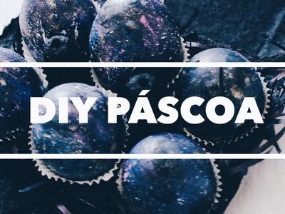 DIY. Presente de Páscoa: Barato e Fácil (Ovos supresa Galaxy & Barra de Marshmallow e Chocolate)