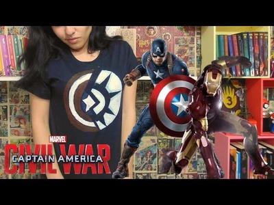 #VEDA26 - DIY Camiseta Guerra Civil