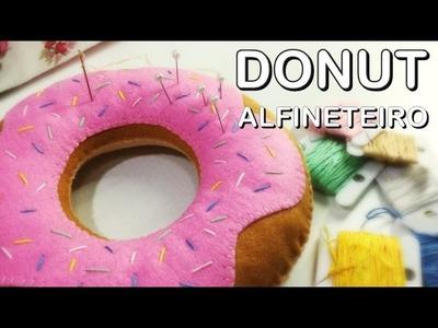 Alfineteiro Donut - Como fazer