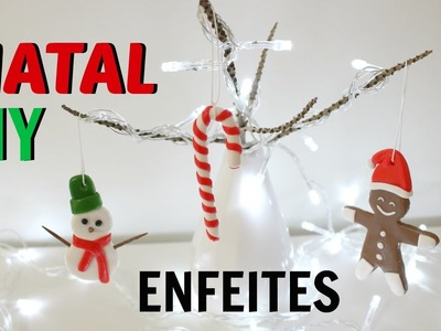 [ DIY ] Natal: enfeites de árvore com biscuit | Faça Seu Natal DIY