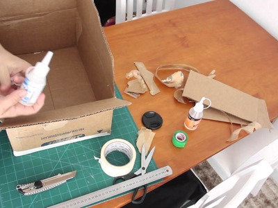 DIY - Organizador (como fazer a caixa)  ✂️ Artesanato